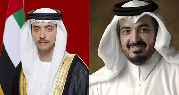ABU DHABI, UNITED ARAB EMIRATES - November 23, 2011: Official portrait of HH Sheikh Hazza bin Zayed Al Nahyan National Security Advisor for the United Arab Emirates and Vice Chairman of the Executive Council.  ( Ryan Carter / Crown Prince Court - Abu Dhabi )